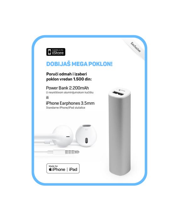 iStore-Pokloni-Earphones-ili-PowerBank-2200mAh