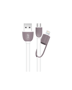 iStore-Flat-2in1-Cable-White