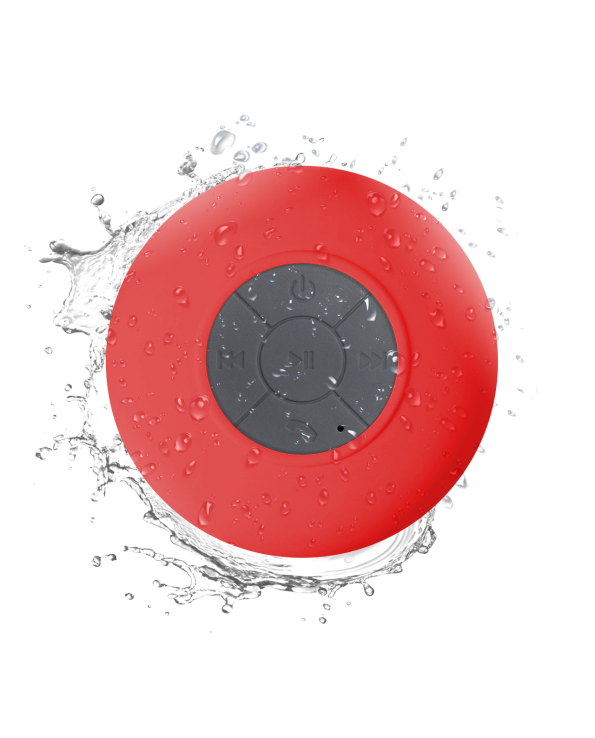 iStore-Bubble-Red-Waterproof-Speaker