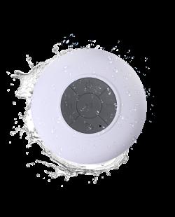 iStore-Bubble-White-Waterproof-Speaker