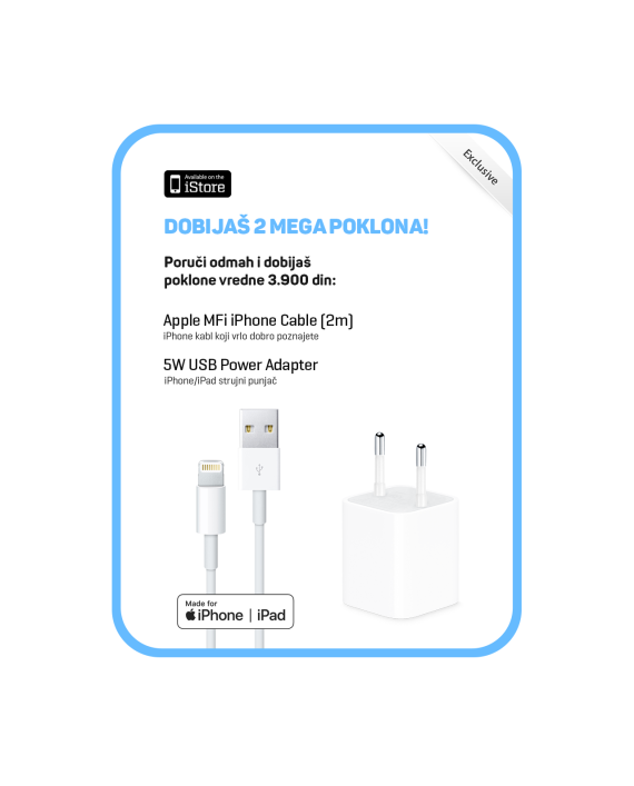 iStore-Pokloni-5w-v2-i-Apple-Lightning-Cable-2m